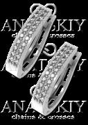 Серебряные сережки (435)