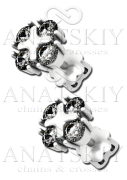 Серебряные сережки (448)