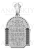 Серебряная ладанка (529)